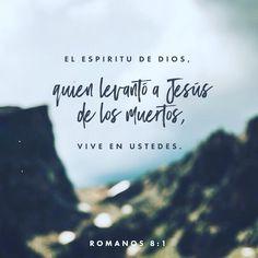 Dios resucitó a Jesús y él también hará que los cuerpos muertos de ustedes vuelvan a vivir si es que el Espíritu de Dios vive en ustedes. Esto Dios lo hará por medio de su Espíritu que vive en ustedes. Romanos 8:11 @youversion @ibvcp #buenosdias #islademargarita #venezuela