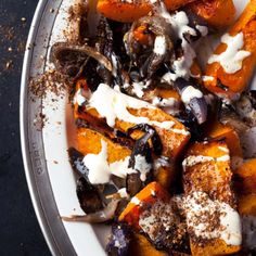 Roasted Squash with Mint and Toasted Pumpkin Seeds | Recipe | Roasted ...