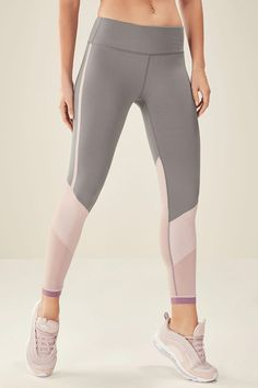a47080939447b Salar Mesh PowerHold Legging in Clay/Dusty Rose/Rouge: Available on  Fabletics, the sportswear brand co-founded by Kate Hudson