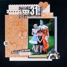 Halloween Costumes by Noel Culbertson - Scrapbook.com for TheScrapReview.com