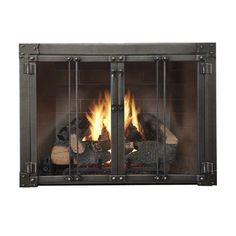 Armada Masonry Fireplace Glass Door | WoodlandDirect.com: Fireplace Doors #LearnShopEnjoy