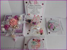 Mój świat kolorów...: Ślubnie... Exploding Boxes, Place Cards, Gift Wrapping, Place Card Holders, Gifts, Paper Wrapping, Presents, Wrapping Gifts, Gifs