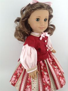 American Girl 18inch Doll Clothes Civil War by HFDollBoutique