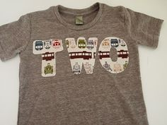 Train Birthday Shirt Organic Blend Tee Boys by lilthreadzclothing, $26.00