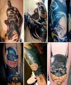 DC Comic Tattoo Designs   Batman Tattoos   Tattoo Loaders: Tattoo Designs, Tribal, Celtic ...