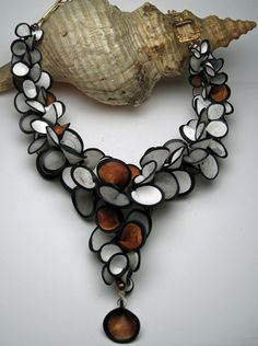 Gloria Danvers - Runway and Statement inspired Polymer Clay Jewelry