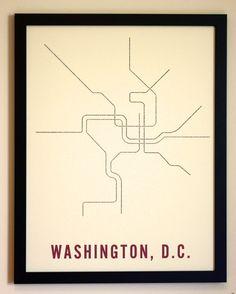 metro typography, only$25! by TRNSPRTNATION