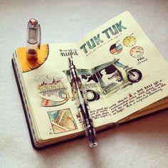 Los maravillosos cuadernos de viaje de José Naranja - Esto no es arte