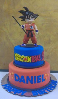 Dragonball Cake - Visit now for 3D Dragon Ball Z compression shirts now on sale! #dragonball #dbz #dragonballsuper