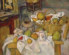 Kitchen Table, Paul Cezanne