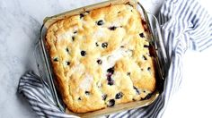 If you're looking for a delicious, seasonal, berry cake recipe to add to your morning-treat repertoire, this buttermilk blueberry breakfast cake is perfect! Blueberry Breakfast, Breakfast Cake, Breakfast Dishes, Breakfast Recipes, Blueberry Cake, Easy Bread Recipes, Cake Recipes, Cooking Recipes, Blueberry Recipes