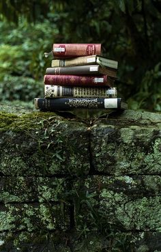 books and nature...<3