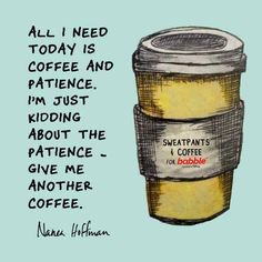 I'll have another ☕