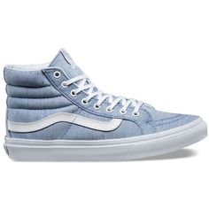 24683ff7dc Vans Speckle Jersey SK8-Hi Slim ( 70) ❤ liked on Polyvore featuring shoes