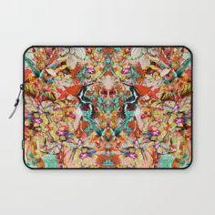 Laptop Sleeve - Botanical Yellow - RIZA PEKER