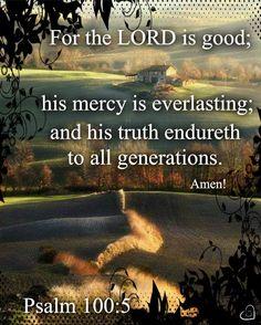 Image result for Psalm 100:5 kjv