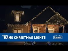 How To Hang Exterior Christmas Lights - I'm finally going to hang lights on my house this year! But I sure do hate ladders...