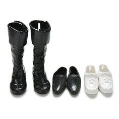 3 Pairs Dolls Cusp Shoes Leather Shoes Boots for Ken Doll Barbie Boyfriend Toy Q    eBay