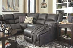 Tips That Help You Get The Best Leather Sofa Deal. Leather sofas and leather couch sets are available in a diversity of colors and styles. A leather couch is the ideal way to improve a space's design and th Grey Leather Sectional, Best Leather Sofa, Leather Sofas, Reclining Sectional With Chaise, Sofa Deals, Unique Sofas, Sofa Price, Couch Set, Living Room Sectional
