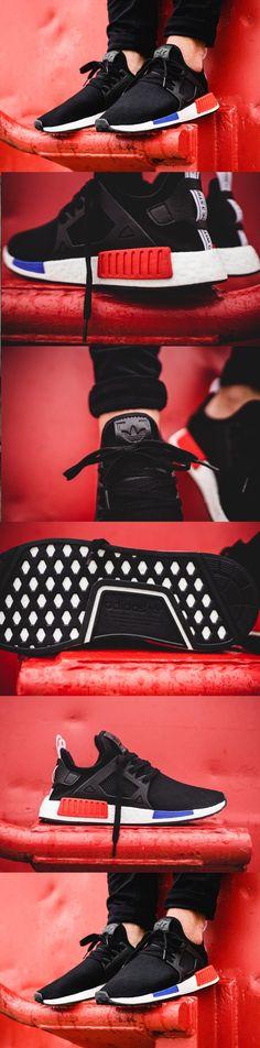 #Adidas #NMD #XR1 #Primeknit 'OG' #Black #Red #Blue www.adidas.fr/...