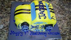 Kids Racecar Cake - Bello Divinia Cakes -  Charlotte, NC -  bellodiviniacakes@yahoo.com