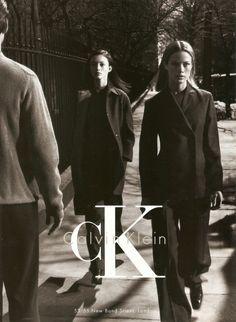 CK Calvin Klein Fall/Wint 1998 - Audrey Marnay & Carolyn Murphy