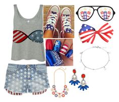 """""""Forth of July outfit"""" by tripleastyles on Polyvore"""