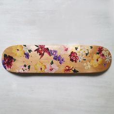Flora Skateboard Deck