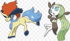 Months ago, two new Pokemon have been revealed to the Japanese public...Keldeo (pictured left) and Meloetta (pictured right)...thought it was time I said something about them.