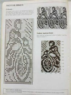 Knitted Mittens Pattern, Fair Isle Knitting Patterns, Fair Isle Pattern, Knit Mittens, Knitting Charts, Knitting Stitches, Crochet Chart, Filet Crochet, Crochet Patterns