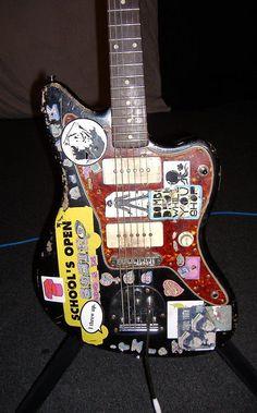 Thurston Moore - 1966 (circa) Fender Jazzmaster
