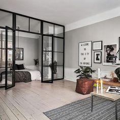 """3,505 likerklikk, 72 kommentarer – 🌟For Your Inspiration🌟 (@fyinspo) på Instagram: """"When can I move in? This apartment for sale via @skandiamaklarna is just so cool🔝(📷 @kronfoto…"""""""