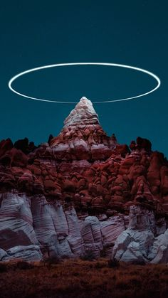 """Lux Noctis"" series by Reuben Wu. Light Painting, Color Photography, Great Artists, Mystic Places, Cool Pictures, Sky, Mountains, Nature, Photo Ideas"