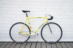 Andrey's Look AL264 Track Bike - PEDAL Consumption