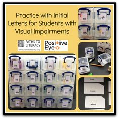 A fun hands-on activity to reinforce initial letter sounds, braille contractions and numbers for students with visual impairments.