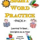 After years of trying to find sight word practice for my students, I decided to make my own sight word practice worksheets!  My students practice w...