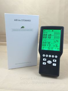 Portable Formaldehyde Tester Gas Detector Meter Indoor Air Quality Tester