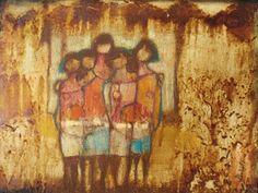 """De la serie pueblofamilia"""", por Clara Llobeta"""