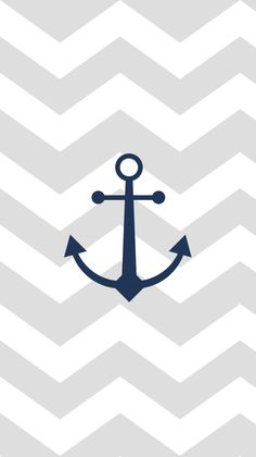 Download a chevron patterned #anchor #wallpaper on mfcreative