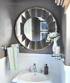 Bellesol Mirror by Ballard Designs  I  via @Centsational Girl