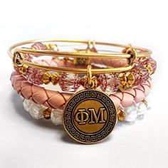 Phi Mu Sorority Bangle!
