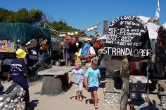 Die Strandloper Seafood Restaurant, on the beach, Langebaan, Cape West Coast - South Africa