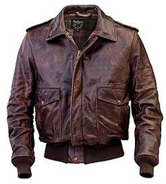 Leather bomber jacket. Yes.