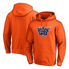 Phoenix Suns Fanatics Branded Static Logo Pullover Hoodie - Orange