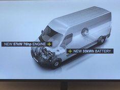 Lutilitaire Renault Master se convertit à lélectricité. son arrivée est prévue  fin 2017 avec une autonomie estimée à 200 km selon le cycle NEDC - http://ift.tt/1HQJd81