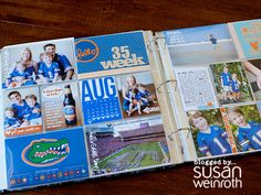 Susan Weinroth Blog with a bunch of awesome layout and card ideas