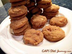 Apple Pie Medallions Coconut Cookies