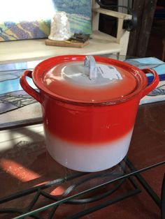 Enamel Ware Pot