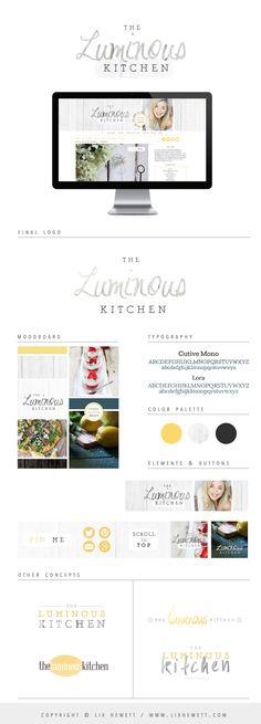 WordPress Food Blog Design, Logo, Graphics | Lix Hewett Design