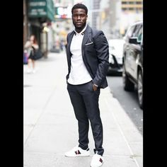 "192 Likes, 1 Comments - Black Menswear (@blackmenswear) on Instagram: ""Sunday Funday @kevinhart4real • • • #BlackMenswear #HighFashionBlackMen #BlackMenWithStyle…"""